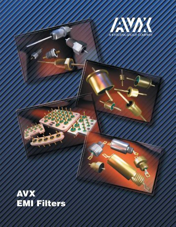 EMI Filters - AVX