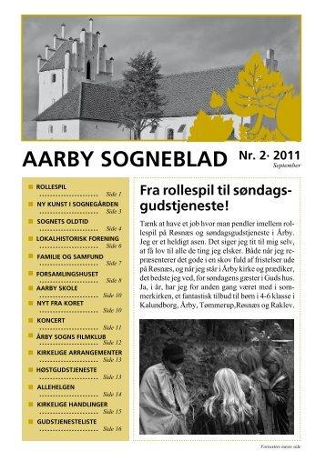Nr. 2 - 2011 - Aarby Kirke