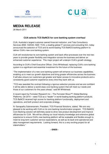 MEDIA RELEASE - FST Media