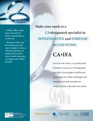 Diploma in INVESTIGATIVE and FORENSIC ACCOUNTING