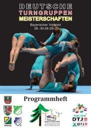 Programmheft Deutsche ... - Herzlich Willkommen