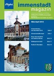 3 /&6& #.8 FS +&5;5 130 - Stadtverwaltung  Immenstadt