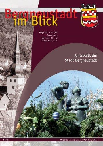 Bergneustadt im Blick Folge 666 als PDF ... - Stadt Bergneustadt