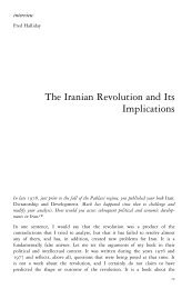 The Iranian Revolution and Its Implications - Platypus