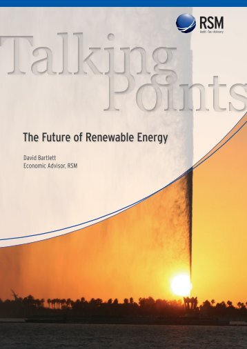 The Future of Renewable Energy - RSM International