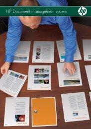 HP Document management system