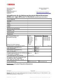 Anfrageformular für die Kalibrierung thermischer Massenflussmesser