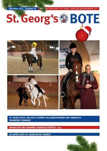 Aktuelle Ausgabe Dezember 2013 - Reitverein Oberursel ...