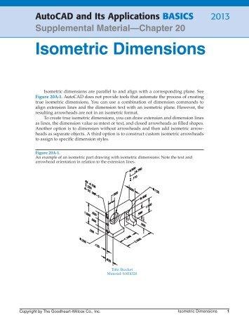 Isometric Dimensions