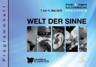 und Jugendkulturwoche Crailsheim 2012