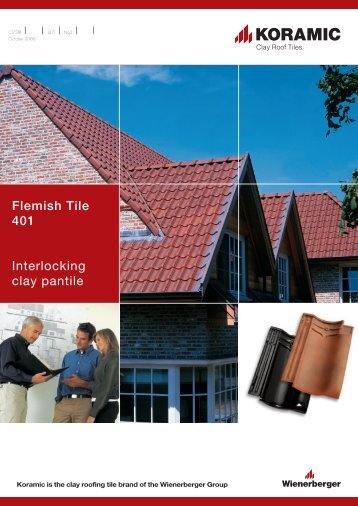 Flemish Tile 401 Interlocking clay pantile - Raven Roofing Supplies