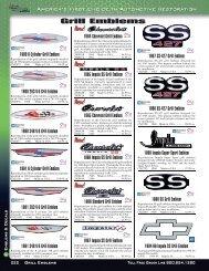 PDF catalog - downloads.classicindustries.com - Classic Industries