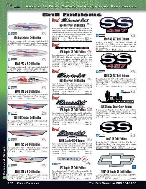 PDF catalog - downloads classicindustries com - Classic