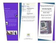 BEST NET Employee Self Service Site