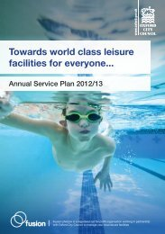 13 Annual Service Plan Summary Booklet , item 126. PDF 249 KB