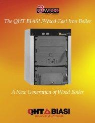 The QHT BIASI 3Wood Cast Iron Boiler - API of NH