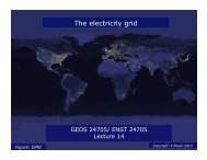 Electrical grid: link between generadon and consumpdon The ...
