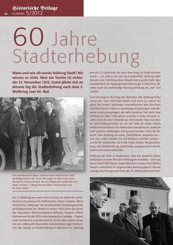 Nr. 5 - 2012 - Stadt Vohburg