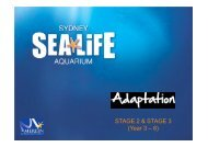 Adaptation - Sydney Aquarium