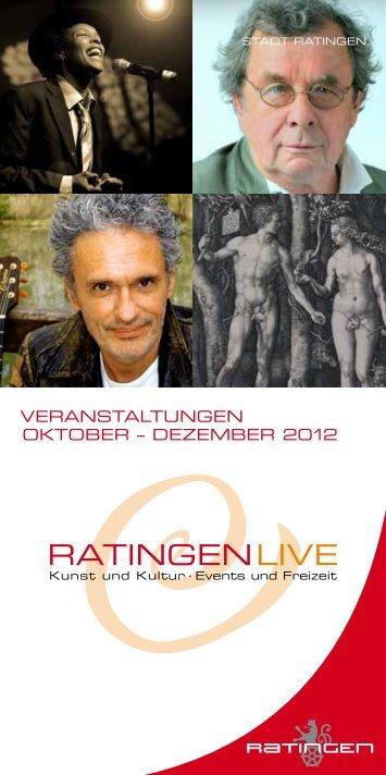 Bei uns Programm: Ratingen und Umgebung - Stadt Ratingen