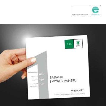 Badanie i wybór papieru (1019 kB) - Europapier