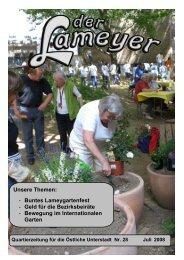 Der Lameyer - 2008 Nr.28 Juli