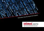 Information Security beyond the Endpoint
