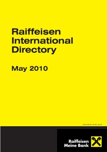 Raiff Directory May 2010:raiff Directory June 2009