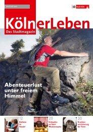 KölnerLeben Ausgabe 3, Juni/Juli 2012 - Stadt Köln