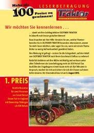 1. PREIS - Oldtimer-Markt