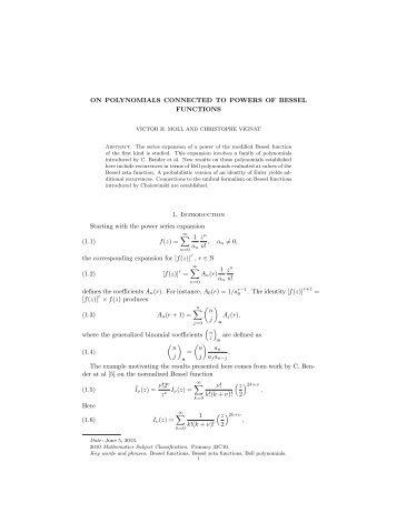 introduction bessel functions pdf free