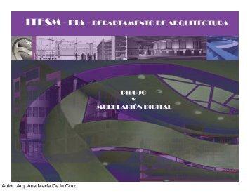 Dibujo Asistido por Computadora - Dibujo y Modelación Digital C9. 1