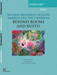 Natural resources in Latin America and the Caribbean