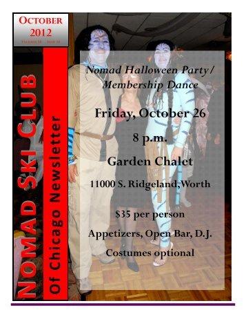 October 2012 newsletter.pub - Chicago Nomads Ski Club