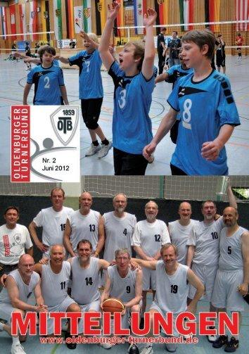 OTB-Mitteilungen 02/2012 - Oldenburger Turnerbund