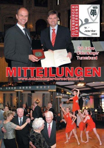 OTB-Mitteilungen 04/2009 - Oldenburger Turnerbund