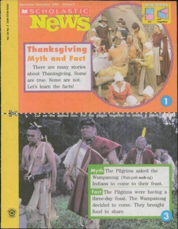 Thanksgiving Myths From Scholastic PDF