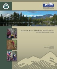Federal Fiscal Year 2014 Appropriations Request - Pacific Crest ...