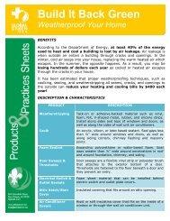 Weatherproofing - Global Green USA
