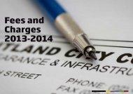 Fees and Charges 2013-2014 - Maitland City Council
