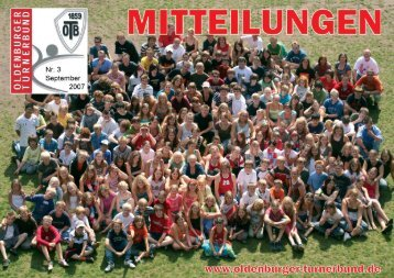 OTB-Mitteilungen 03/2007 - Oldenburger Turnerbund