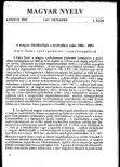 Magyar Nyelv, 1987 - UMIZ - Page 3