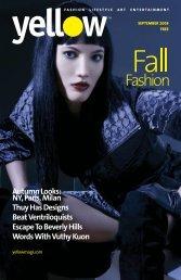 Editor in Chief - Yellow Magazine