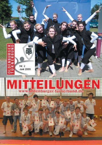 OTB-Mitteilungen 2/2009 - Oldenburger Turnerbund