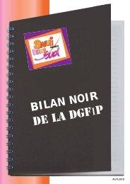 Le bilan noir de la DGFiP