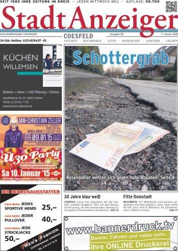 Stadt Anzeiger Coesfeld kw 2 2015