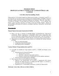 Jornada de debate: - samFYC. Sociedad Asturiana de Medicina de ...