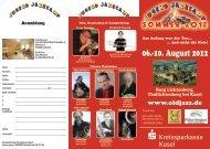 06.-10. August 2012 - Old Jazz Union Deutschland