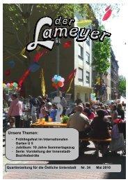 Der Lameyer - 2010 Nr.34 Mai