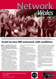 Wales - WCVA